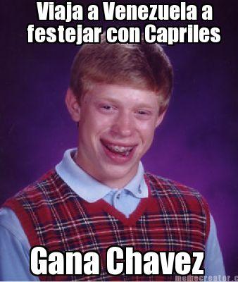 Festejar con capriles