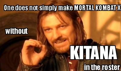 Meme Creator One Does Not Simply Make Mortal Kombat X